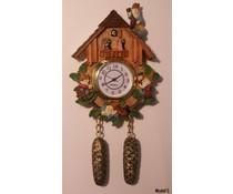 Hettich Uhren Reloj de cuco con movimiento de cuarzo genuino con magnética