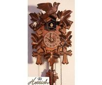 Hettich Uhren Cuckoo Clock 23cm met quartz uurwerk en automatische nacht-off met 12 verschillende melodieën - Copy