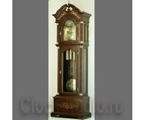 Hettich Uhren Exclusive Standuhr Nr.41 nußbaum lackiert mit Intarsien Einlegearbeiten im Schwarzwald hergestellt - Copy - Copy