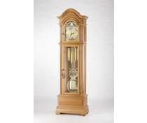 Hettich Uhren Standuhr 47-P43Eiche rustikal lackiert mit Hermle Kettenwerk 3 Melodien im Schwarzwald hergestellt - Copy