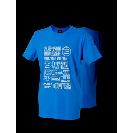 Cock & Balls - T-shirt Play your game combo Blue