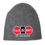 Cock & Balls - Original Grey Beanie