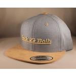 Cock & Balls - Flexfit Snapback Stave Blue