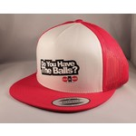 Cock & Balls - DYHTB Snapback Red