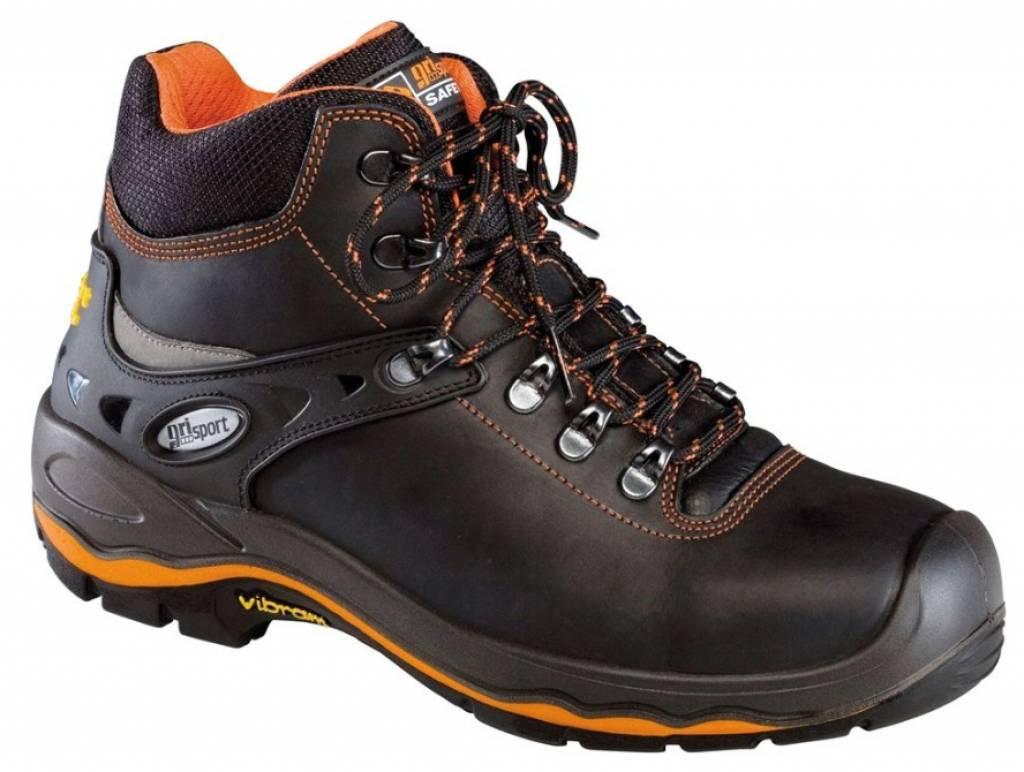 Grisport Grisport 72003L Zw./Oranje S3 UK Boot Vibram