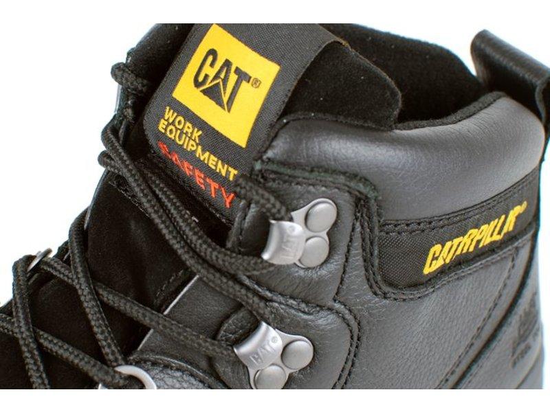 CAT HYDRAULIC - CAT HOGE VEILIGHEIDSSCHOEN S3 ZWART