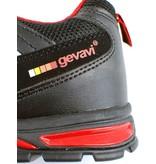 GEVS GS33 - GEVAVI SAFETY LAGE VEILIGHEIDSSCHOEN S1P ZWART