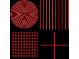 Global Laser 1:10 dot circle for Machine Vision lasers