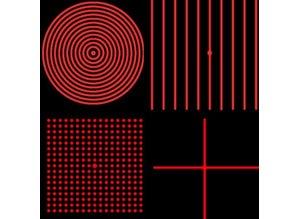 Global Laser 15° Prism Lens assembly for Machine Vision lasers