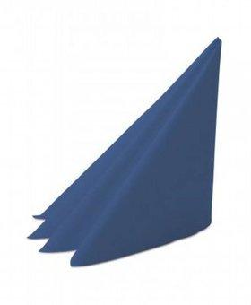 Servet 2lgs 40x40cm 4v donkerblauw 20x100st