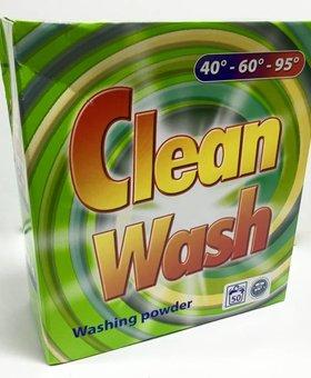 Clean Wash washing powder 3x5kg