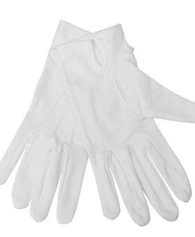Sans Marque Serveerhandschoen dames wit
