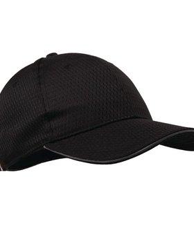 Colour by Chef Works Grijs randje Colour byChef Works Cool Vent baseball cap grijs
