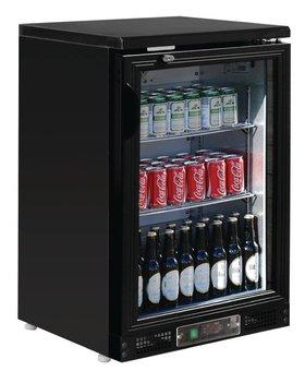 Polar Polar 140ltr 1-deurs gekoelde bardisplay zwart 104 flessen