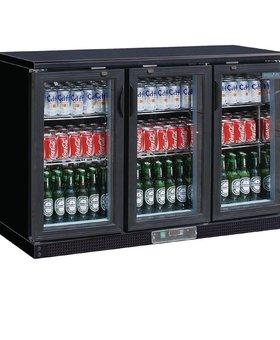 Polar Polar 335ltr gekoelde bardisplay zwart 273 flessen