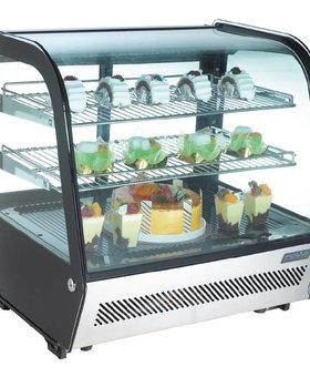 Polar Polar 120ltr tafelmodel gekoelde vitrine