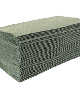 Jantex Jantex groen Z-gevouwen handdoeken 1-laags