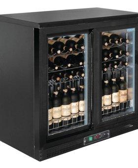 Polar Polar 254ltr horizontale wijnkoeling met schuifdeuren