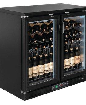 Polar Polar 254ltr horizontale wijnkoeling met klapdeuren