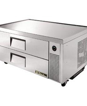 True True TCRB-52 113ltr GN1/1 koelwerkbank met 2 laden