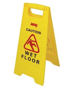 """Jantex Waarschuwingsbord """"Wet floor"""""""