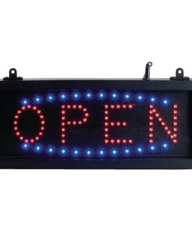 Sans Marque LED display sign OPEN
