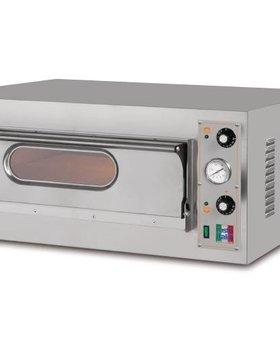 Resto Italia Resto Italia 1kamer pizza oven met 1 ovenkamer