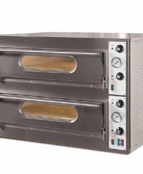 Resto Italia Resto Italia Big 2kamers pizza oven met 2 ovenkamers Big