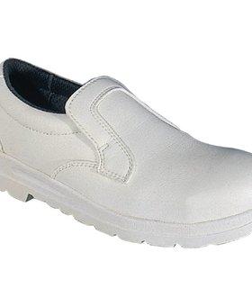 Lites Safety Footwear Unisex instapschoen wit