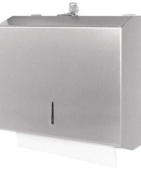 Jantex Jantex RVS vouw handdoek dispenser