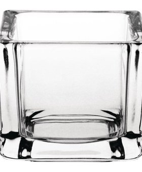 Olympia Olympia 6st vierkante glazen theelichthouders