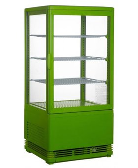 Saro Mini koelvitrine 70ltr groen SC70