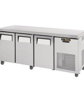 True True 456ltr GN1/1 3-deurs koelwerkbank TGU-3-HC