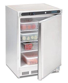 Polar Polar 150ltr RVS tafelmodel koelkast enkeldeurs