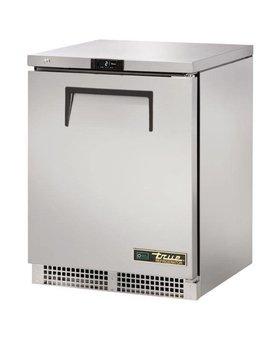 True True TUC-24-HC 147ltr RVS tafelmodel koelkast enkeldeurs