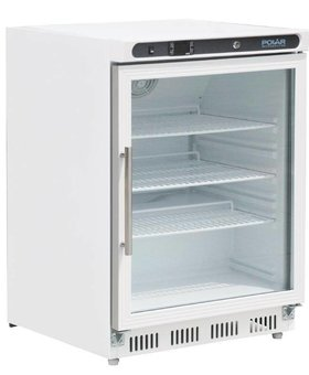 Polar Polar 150ltr wit tafelmodel display koelkast enkeldeurs