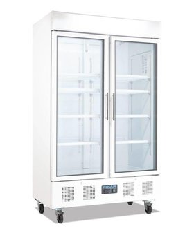 Polar Polar 944ltr wit display koelkast dubbeldeurs