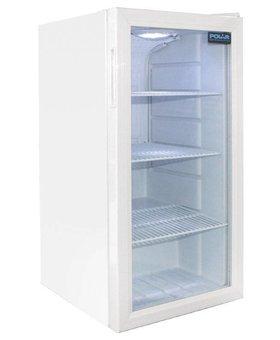 Polar Polar 88ltr wit tafelmodel display koelkast enkeldeurs