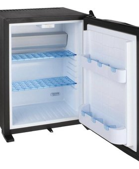 Polar Polar 30ltr zwart minibar koelkast enkeldeurs