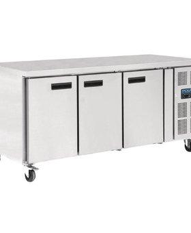 Polar Polar 634ltr patisserie 3-deurs koelwerkbank