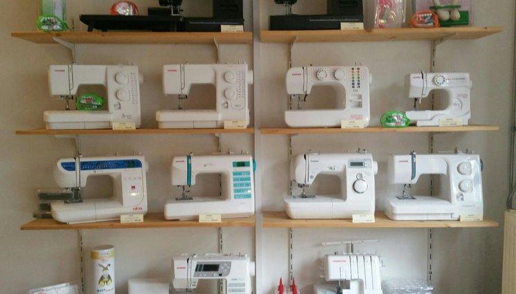 Diverse merken naaimachines