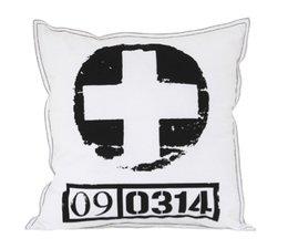 HK living Cushion sort / hvid