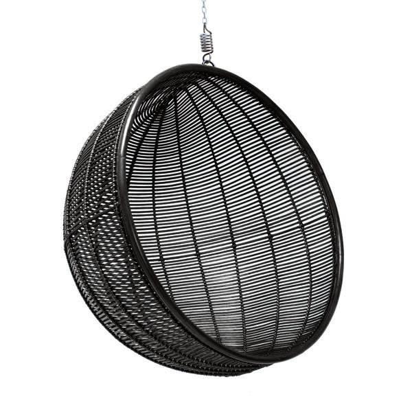 Black hanging chair