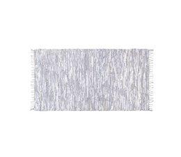 HK living hvidt læder tæppe
