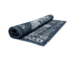 HK living Grå blå tæppe