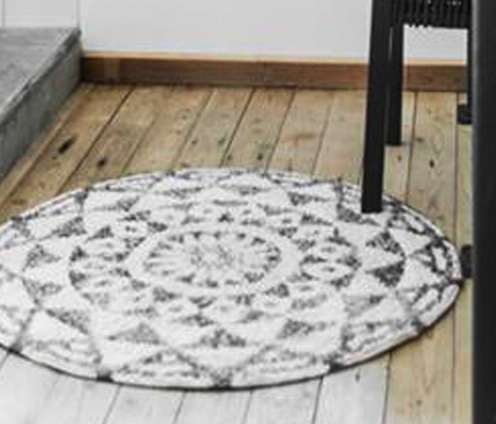 Large Round Bath Rugs Designs