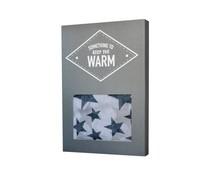The gift label sjaal keep warm