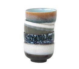 HK living 70 keramiske skåle sæt af 4