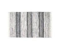 HK living silke robe sort / hvid 120x180