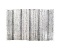 HK living silke robe sort / hvid 180x280cm